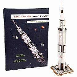 3D puzzle vesmírnej rakety Rex London Space Rocket