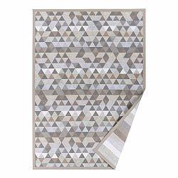 Béžový vzorovaný obojstranný koberec Narma Luke, 160 × 230 cm