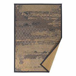 Béžový vzorovaný obojstranný koberec Narma Nehatu, 160 × 230 cm