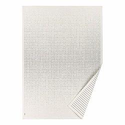 Biely vzorovaný obojstranný koberec Narma Helme, 140 × 200 cm