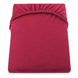 Červená elastická plachta DecoKing Nephrite, 80–90cm