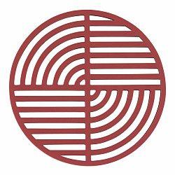 Červená silikónová podložka pod horúce nádoby Zone Trudo