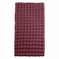 Červeno-fialový relaxačný masážny matrac Linda Vrňáková Bubbles, 110 × 200 cm