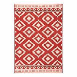 Červený koberec Hanse Home Gloria Ethno, 160 x 230 cm