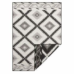 Čierno-krémový vonkajší koberec Bougari Malibu, 230 x 160 cm
