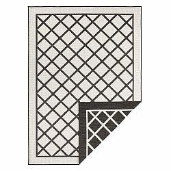 Čierno-krémový vonkajší koberec Bougari Sydney, 80 x 150 cm