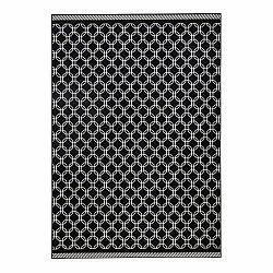 Čierny koberec Zala Living Chain, 70×140cm