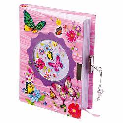 Detský ružový diár Legler Butterfly