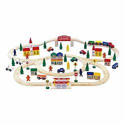 Drevená autodráha Legler Railway