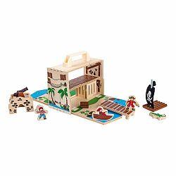 Drevená hračka Legler Pirate Island
