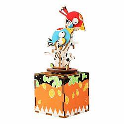 Drevená muzikálna hračka Legler Birds