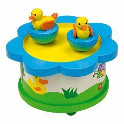 Drevená muzikálna hračka Legler Duck Dance