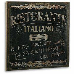 Drevený obraz Ristorante Ristorante Italiano