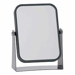 Kozmetické stolové zrkadlo so sivým rámom Zone