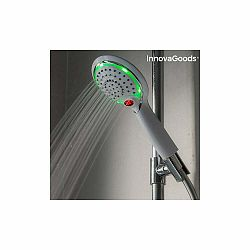 LED sprchová hlavica so senzorom a ukazovateľom teploty InnovaGoods