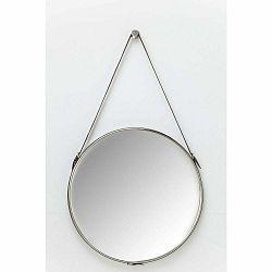 Nástenné zrkadlo v striebornej farbe Kare Design Hacienda, ⌀61cm