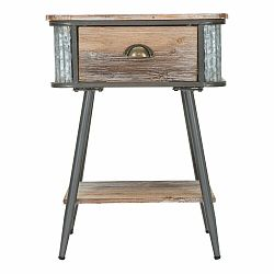 Nočný stolík Mauro Ferretti Bronx, výška63,5cm