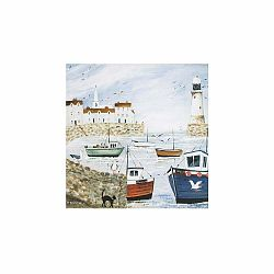 Obraz Graham & Brown Harbourside Type,50x50cm