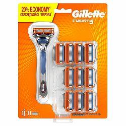 Pánsky holiaci strojček Gillette Fusion5 s 11 náhradnými hlavicami