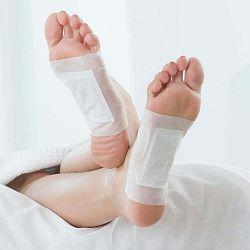 Sada 10 detoxikačných náplastí na nohy InnovaGoods