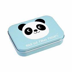Sada 30 náplastí v plechovej škatuľke Rex London Miko The Panda