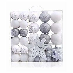 Sada 76 vianočných ozdôb DecoKing Lux
