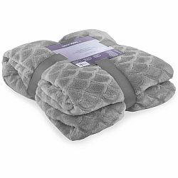 Sivá deka z mikrovlákna DecoKing Sardi, 170×200cm