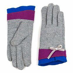 Sivé dámske rukavice Art of Polo Linda
