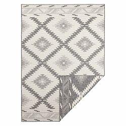 Sivo-krémový vonkajší koberec Bougari Malibu, 230 x 160 cm