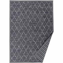 Sivý vzorovaný obojstranný koberec Narma Vao, 70 × 140 cm