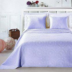 Svetlofialová posteľová sada z mikroperkálu DecoKing Elodie, 170×210 cm