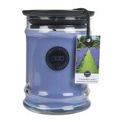Sviečka v skle s vôňou levandule Bridgewater candle Company, doba horenia 65-85 hodín