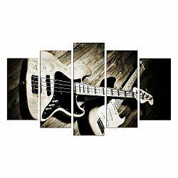 Viacdielny obraz Guitar, 110×60 cm