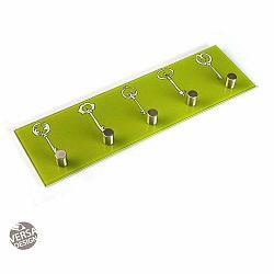 Zelený nástenný vešiak na kľúče Versa Llaves